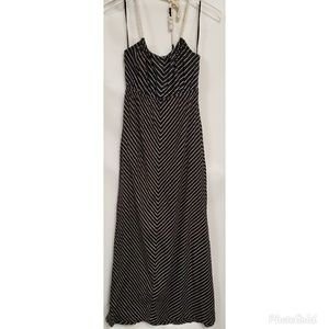 Roxy Striped Halter Maxi Dress #45